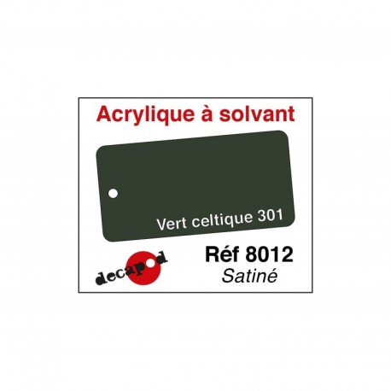 595-8012 Acryl Solvant Vert celtique 301