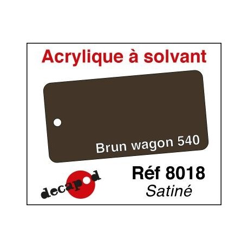 Brun wagon 540 satiné 30ml