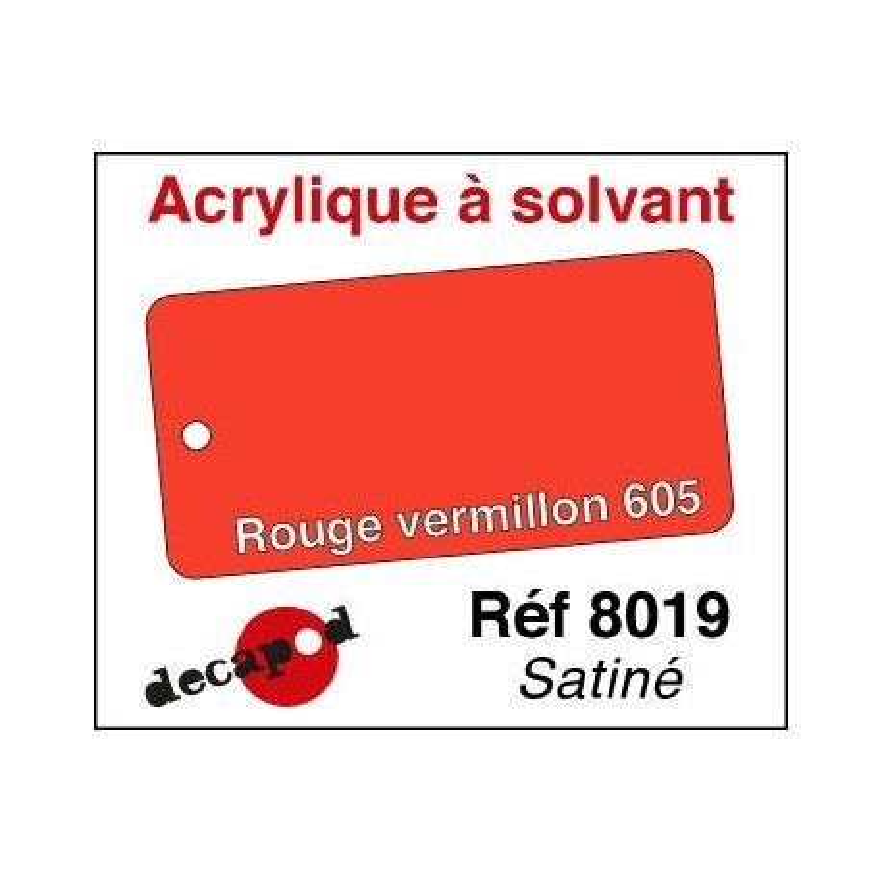 Rouge vermillon 540 satiné 30ml