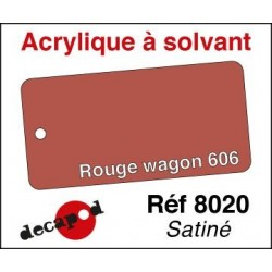 Rouge wagon 606 satiné 30ml
