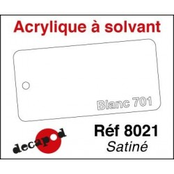 Blanc 701 satiné 30ml