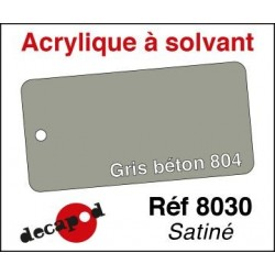 Gris beton 804 satiné 30ml