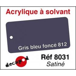 Gris bleu foncé 812 satiné 30ml