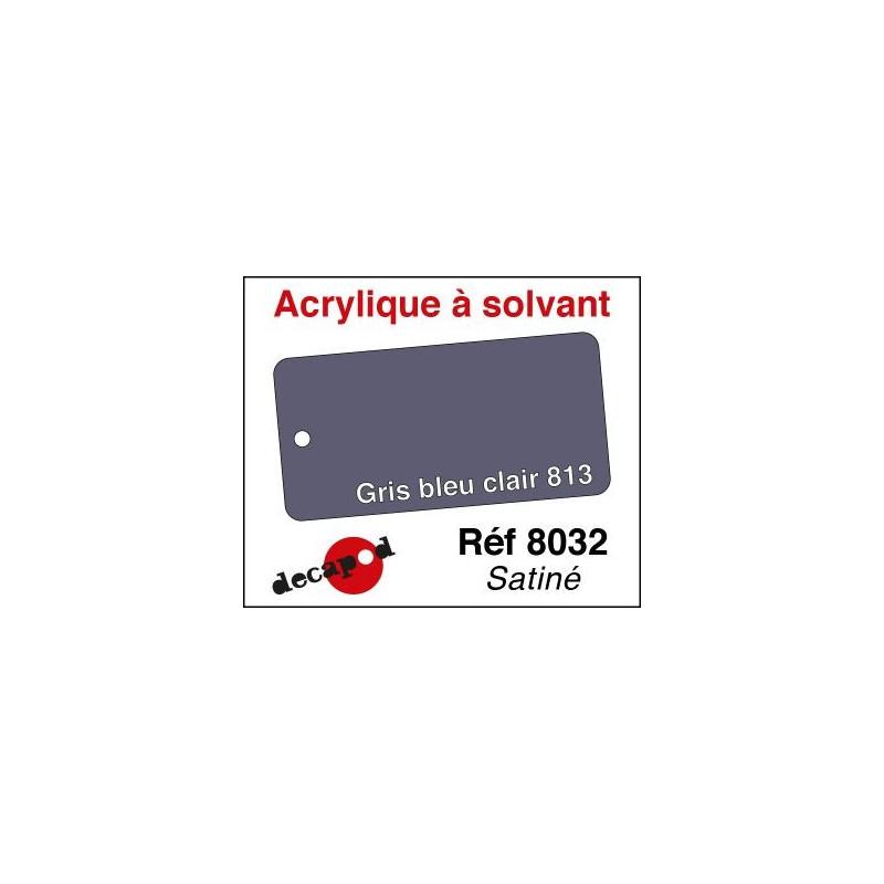 Gris bleu clair 813 satiné 30ml