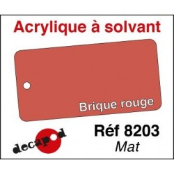 Brique rouge mat 30ml