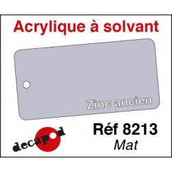 Zinc ancien mat 30ml