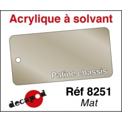 Patine chassis mat 30ml