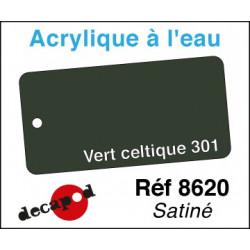 Acryl eau Vert Celtique 301