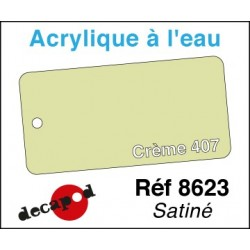 Acryl eau Crème 407
