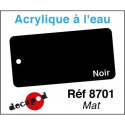 Acryl eau Noir Mat