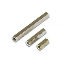 Entretoise filetée M3 Femelle/Femelle L 08mm