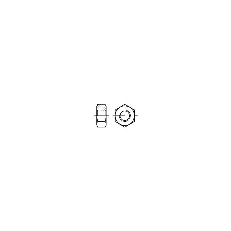 DIN934 H Polyamide M4