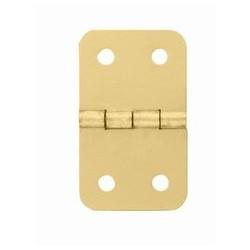 Charnière laiton 19x32mm trous de 2,3mm la paire