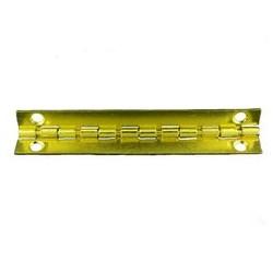 Charnière laiton 76x16 mm trous de 3,5mm la paire