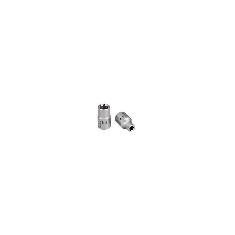 """Douille Torx 1/2"""" (12,5mm) en acier CrV"""