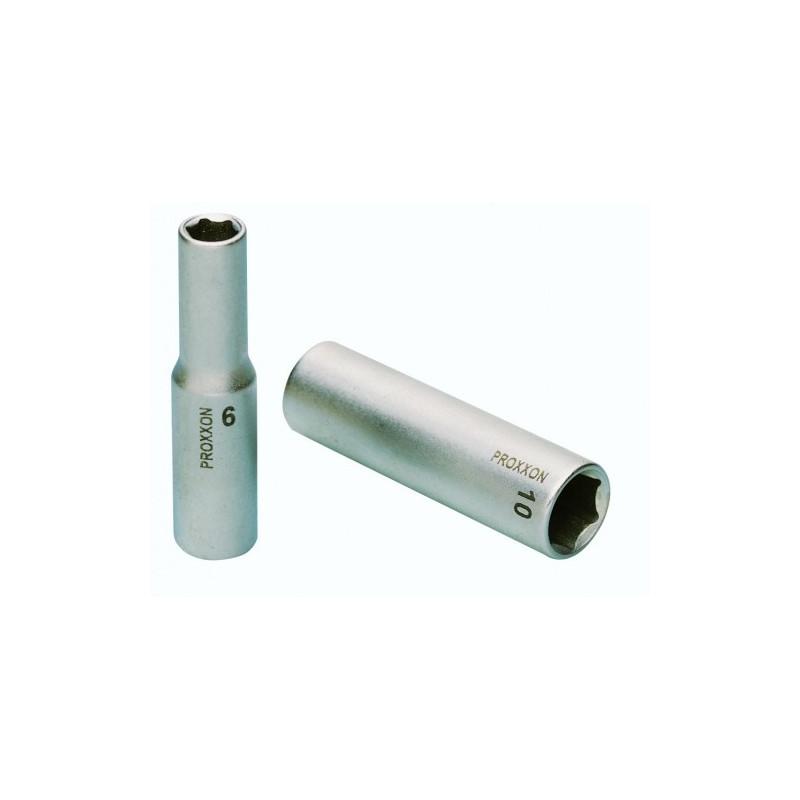 """Douille rallongée 3/8"""" (10 mm) en acier CrV Longueur 64 mm"""