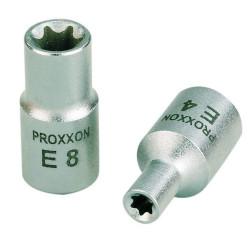 """Douille Femelle Torx 1/4"""" (6,3 mm) en acier CrV Longueur 25 mm"""