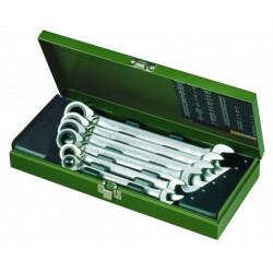 Coffret clés MICRO-Combispeeder de 10 à 19 mm - 6 pcs