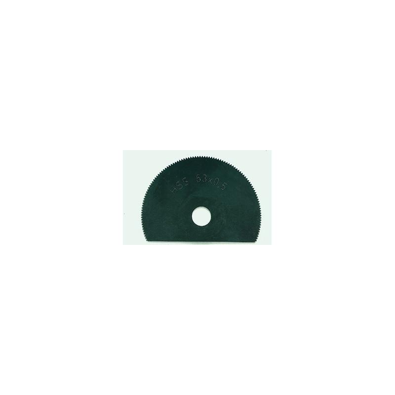 Lame pour tronçonner HSS 65 mm pour OZI 220/E