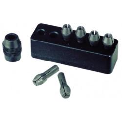 Pinces de serrage Micromot 6 pinces 1,0 à 3,2 mm