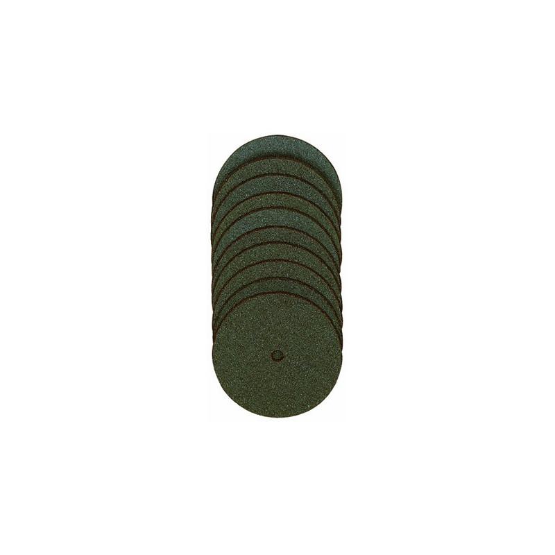 Disques à tronçonner en corindon Ø22 mm axe 2,35 - 50 pcs