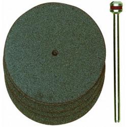 Disques à tronçonner en corindon Ø38 mm axe 2,35 - 5 pcs