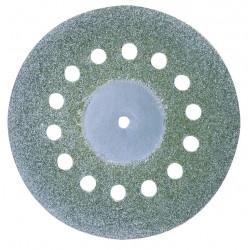 Disque diamenté diamètre 38 mm avec aérations + 1 tige 2,35 mm