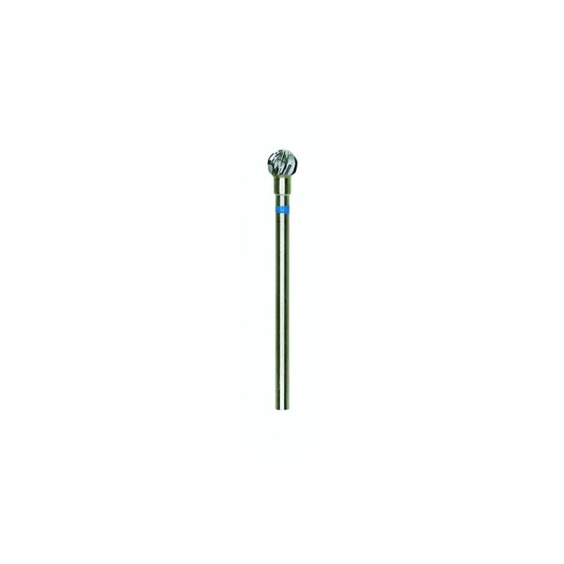 Fraise en métal dur Ø5 mm tête ronde