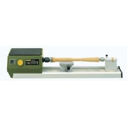DB 250 - Micro-tour à bois entrepointe 250 mm livré avec 6 pince