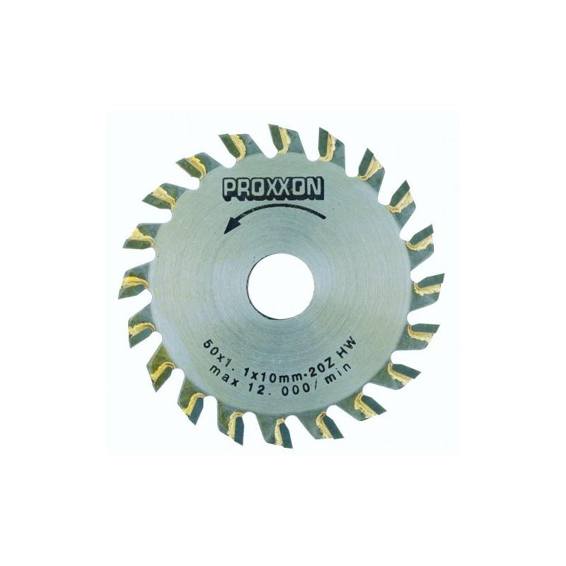 Lame de scie circulaire à plaquettes carbure 20 dents Ø50mmx1,1 pour KS 230
