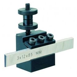 Porte lame avec lame HSS au cobalt - pour PD 400