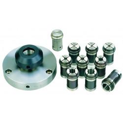 Pinces de serrage pour PD 400 - 9 pcs de 2 à 14 mm