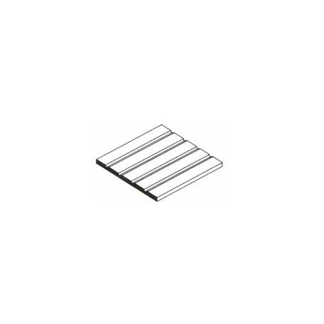 plaque de styr ne blanche de bardage 150x300x1mm. Black Bedroom Furniture Sets. Home Design Ideas