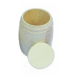 Baril bois 9x11. 2 pièces