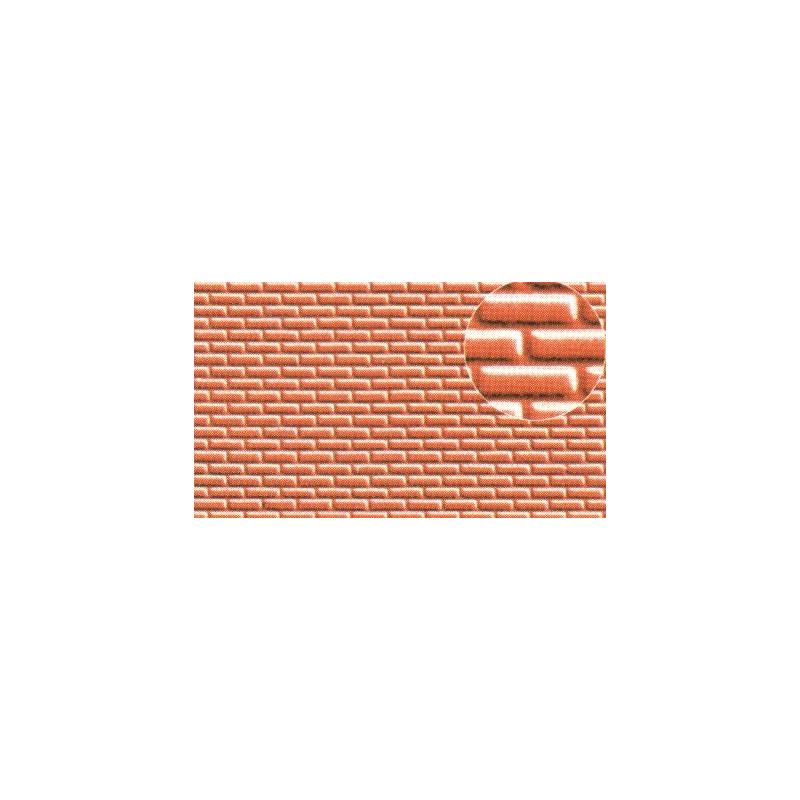 Échelle HO ou N - briques environ 1x2,5 mm