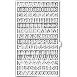 Planche de lettres de 7 mm de haut