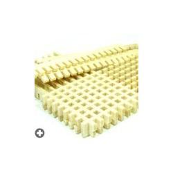 Caillebotis en bois en pièces prédécoupées