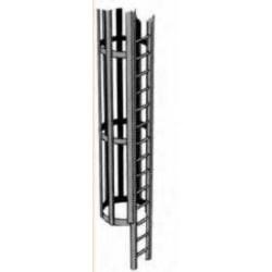 Plastruct : échelle avec cage pour échelle 1/32