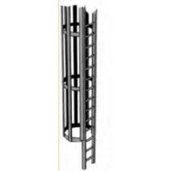 Plastruct : échelle avec cage pour échelle G ou LGB