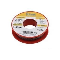 Soudure 100g électronique diamètre 0,6mm