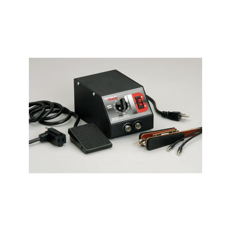 Poste de soudure à résistance 230VAC avec pince et pédale de commande