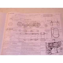 La locomotive à vapeur 1944 : 30 planches format 275x330