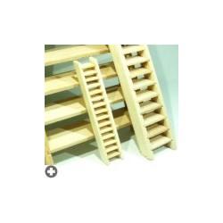 Sachet de 2 escaliers en bois à monter