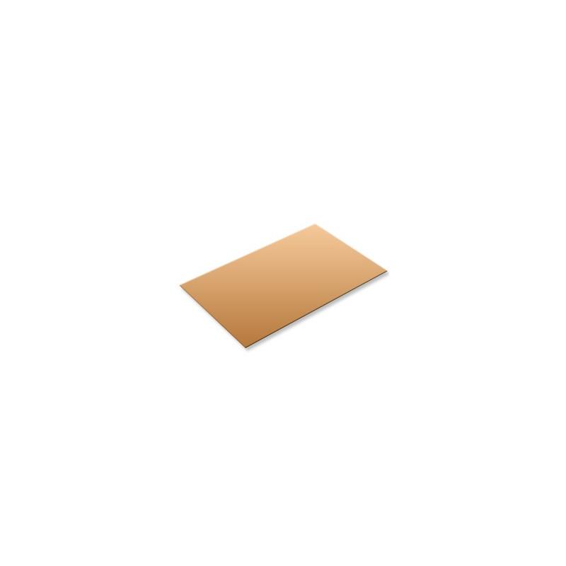 Plaque de cuivre format 400x200x0,8mm