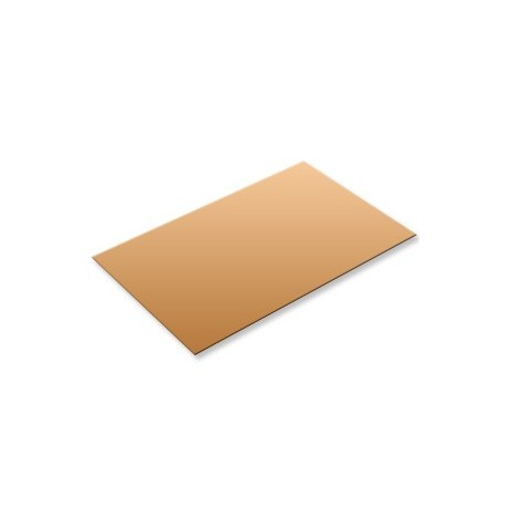 Plaque de cuivre format 400x200x1,5mm