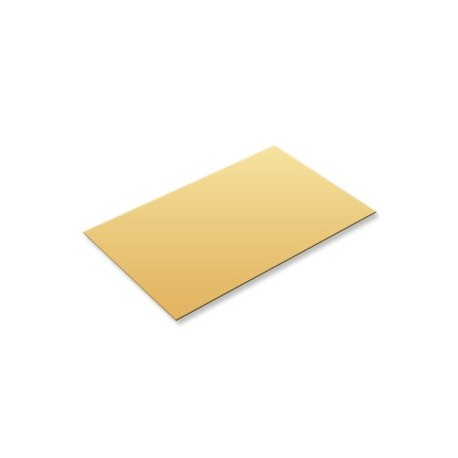 Plaques de laiton format 200x200x1,2mm