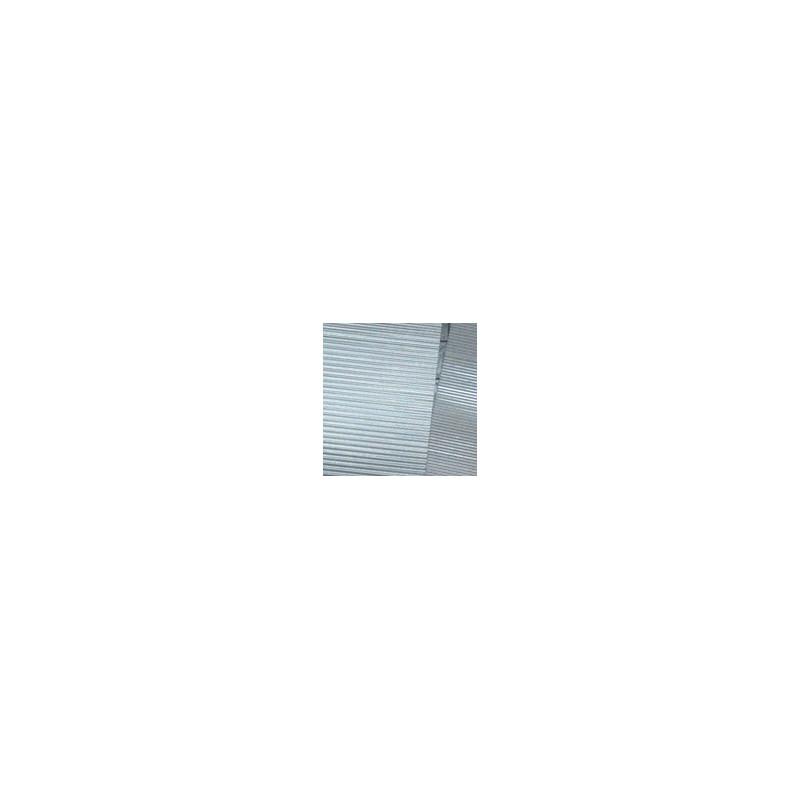Sachet de 6 tôles ondulées à l'échelle N Longueur 19 cm largeur 1,5 cm