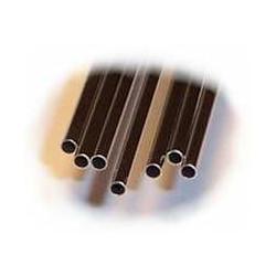 4 tubes inox - Diamètre ext : 0,63 mm - Épaisseur : 0,08 mm - L 23 cm