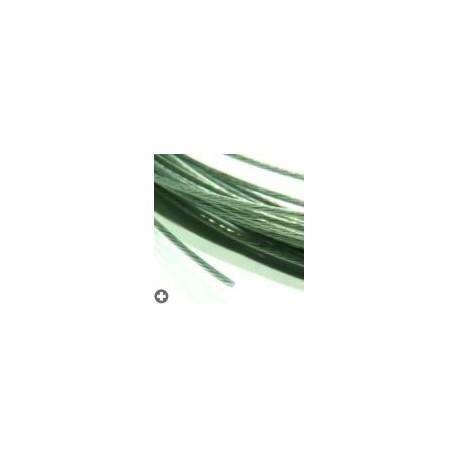 Câbles en acier pour modélisme d : 0,3mm - L : 5m