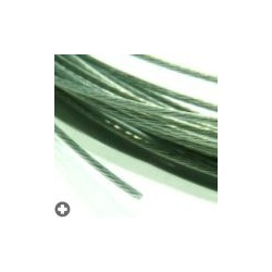 Câbles en acier pour modélisme d : 0,6mm - L : 5m